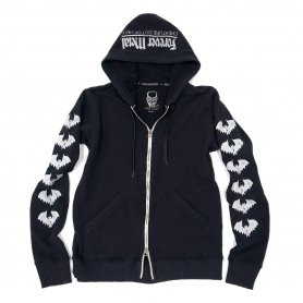 <img class='new_mark_img1' src='https://img.shop-pro.jp/img/new/icons20.gif' style='border:none;display:inline;margin:0px;padding:0px;width:auto;' />LE EViL BAT Zip Hoodie