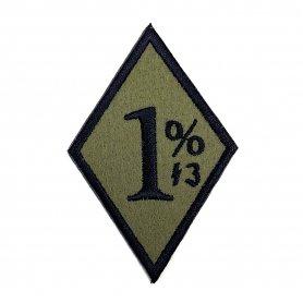 1% Wappen