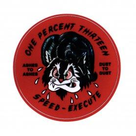1%13 Speed Execute Sticker