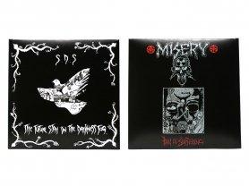S.D.S / MISERY split CD
