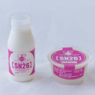 【お得セット】乳酸菌発酵豆乳『SN26』(ドリンク&ハード 6本入)