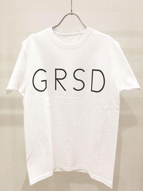 GROW RISE DESIGN GRSDロゴTシャツ(ホワイト)