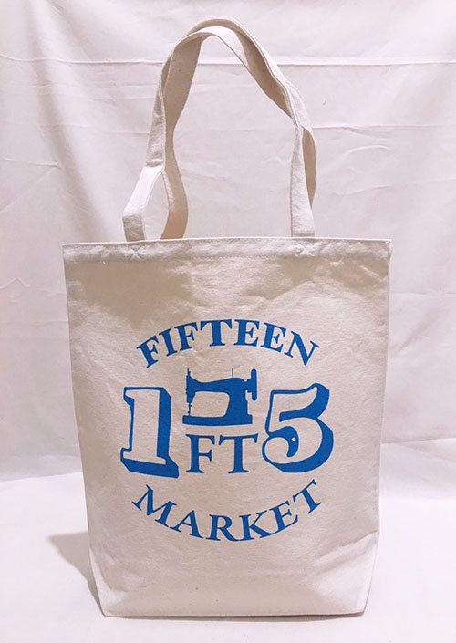 FT MARKET トートバッグ Mサイズ(ブルー)