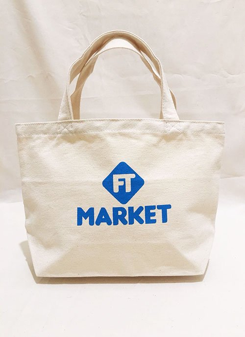 FT MARKET トートバッグ Sサイズ(ブルー)