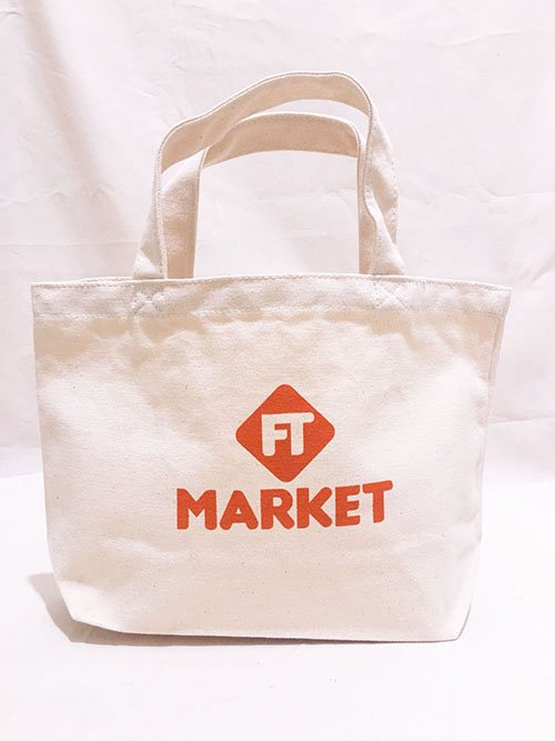 FT MARKET トートバッグ Sサイズ(オレンジ)