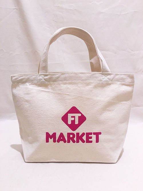 FT MARKET トートバッグ Sサイズ(ピンク)