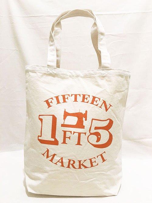 FT MARKET トートバッグ Mサイズ(オレンジ)