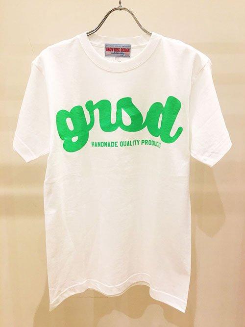 GROW RISE DESIGN ネオンロゴTシャツ(グリーン)