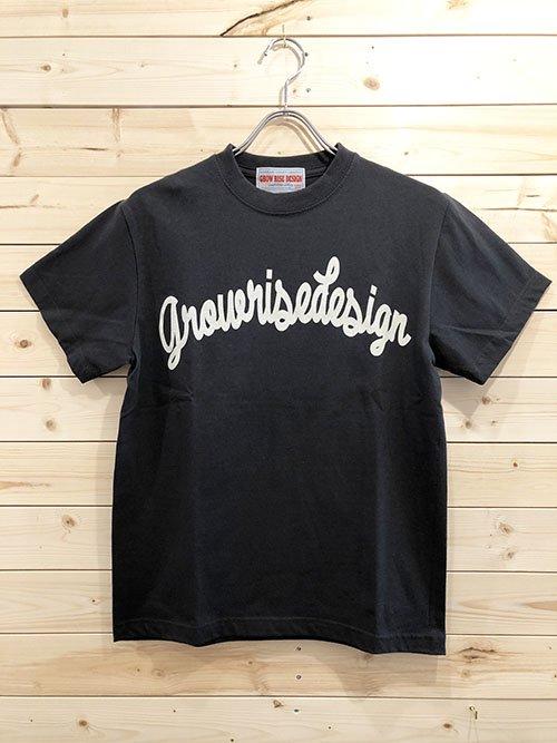 GROW RISE DESIGN アーチロゴTシャツ(スミクロ)