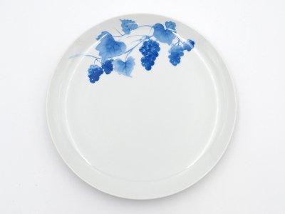 大皿 (青いブドウ)