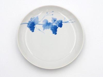 中皿 (青いブドウ)