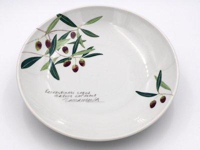尺一寸大皿 (オリーブ)