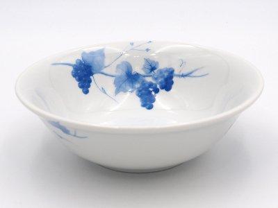 深鉢 (青いブドウ)
