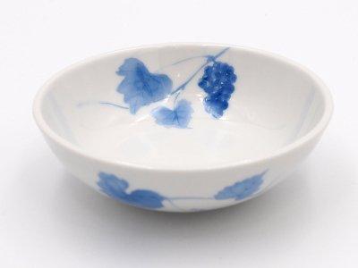 小鉢 (青いブドウ)