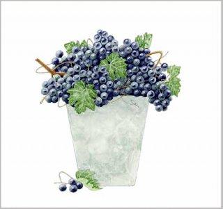 版画 「葡萄鉢」