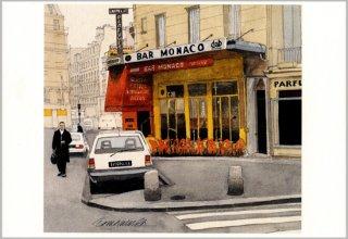 ポストカード「カフェ・モナコ」