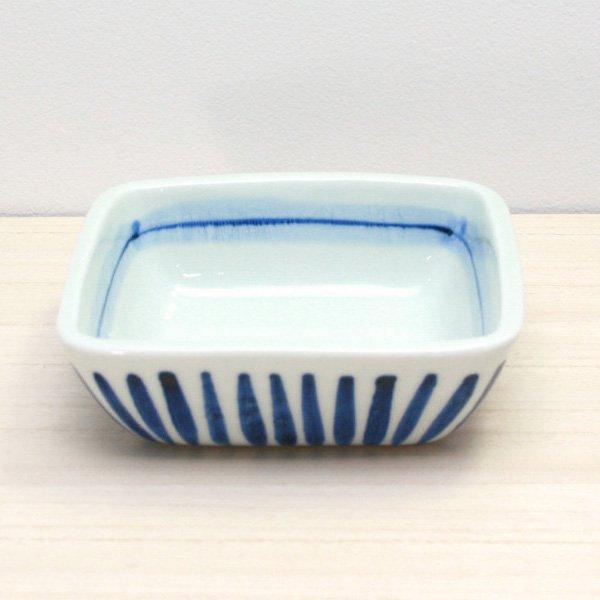 砥部焼・千山窯 − さしみ鉢 十草