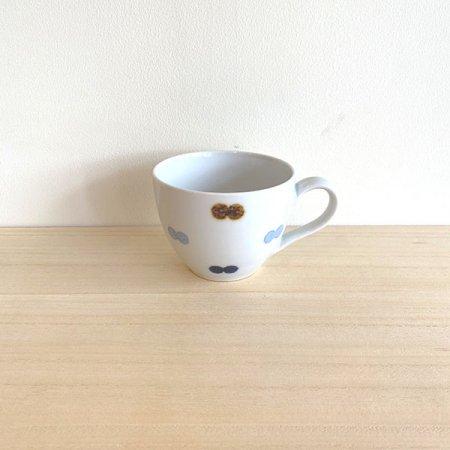 砥部焼・イロリ工房 − 丸型カップ ニコタマ