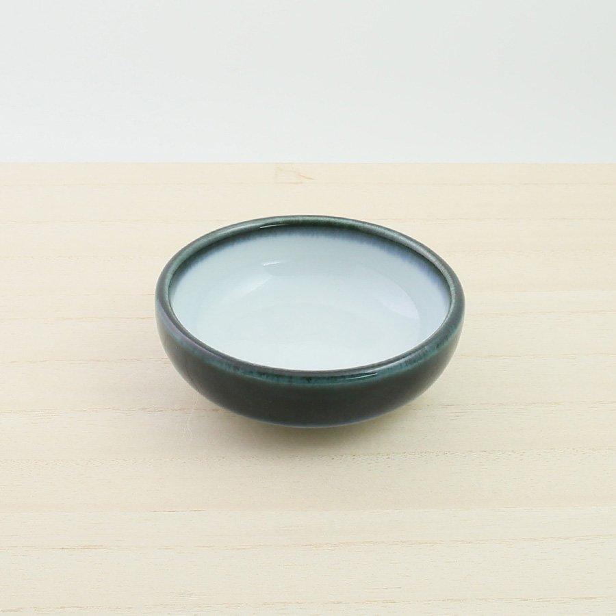 砥部焼・ヨシュア工房 − まめ鉢 内白