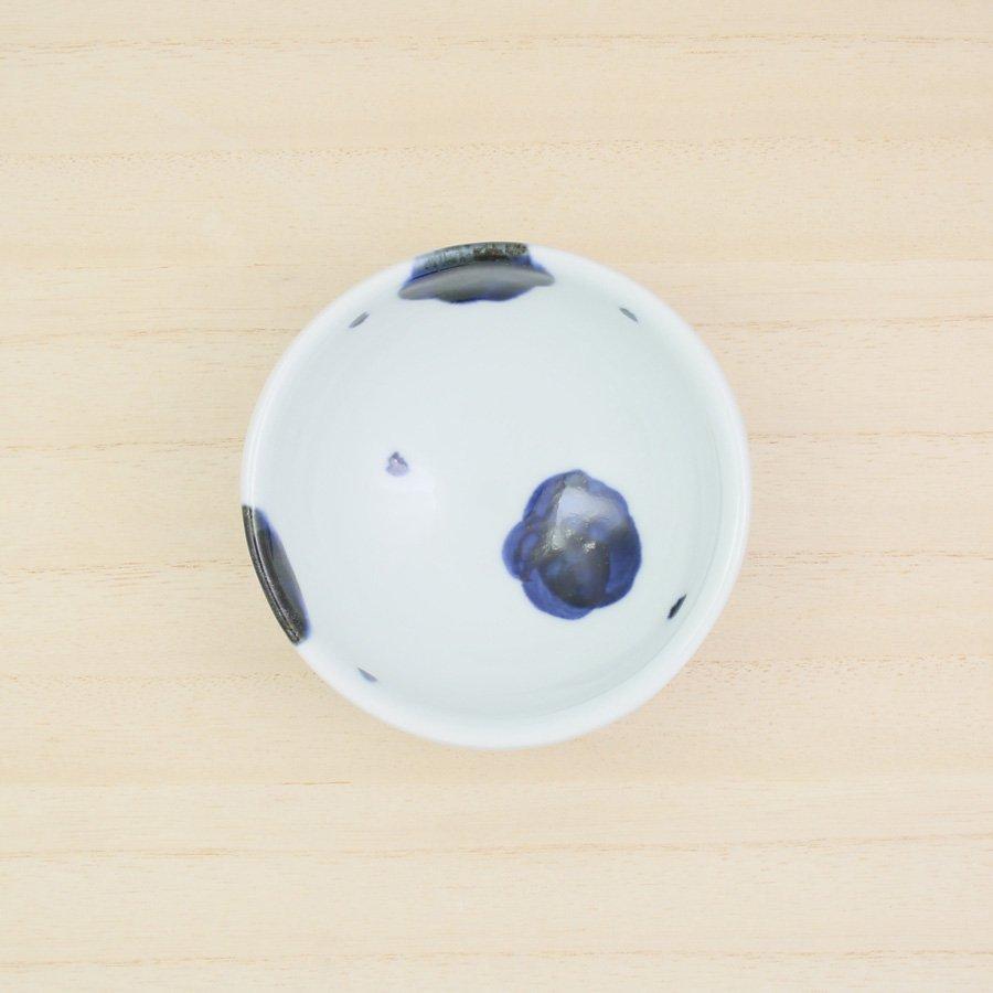 砥部焼・雲石窯 − 小鉢 梅文