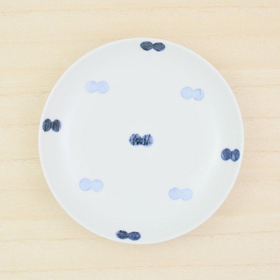 砥部焼・イロリ工房 − 5寸皿 ニコタマ