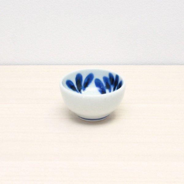 砥部焼・陶房 遊 − 豆々鉢 ブルーリーフ