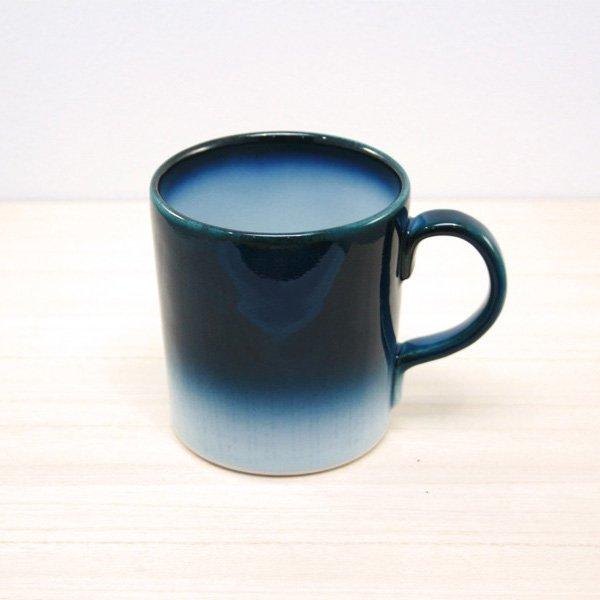 砥部焼・ヨシュア工房 − マグカップ ヨシュアブルー