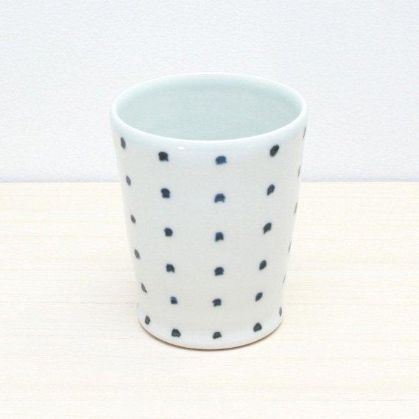 砥部焼・雲石窯 − フリーカップ さしこ