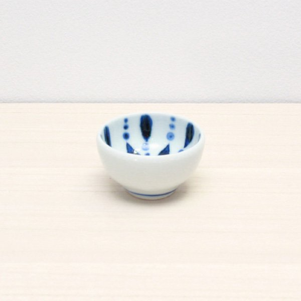 砥部焼・陶房 遊 − 豆々鉢 雨ツブ