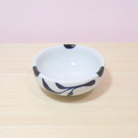 砥部焼・雲石窯 − 小鉢 三ツ葉