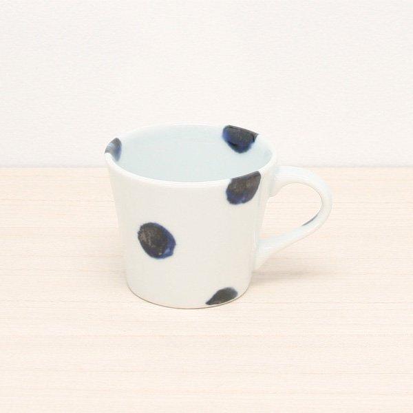 砥部焼・雲石窯 − コーヒーカップ 太丸