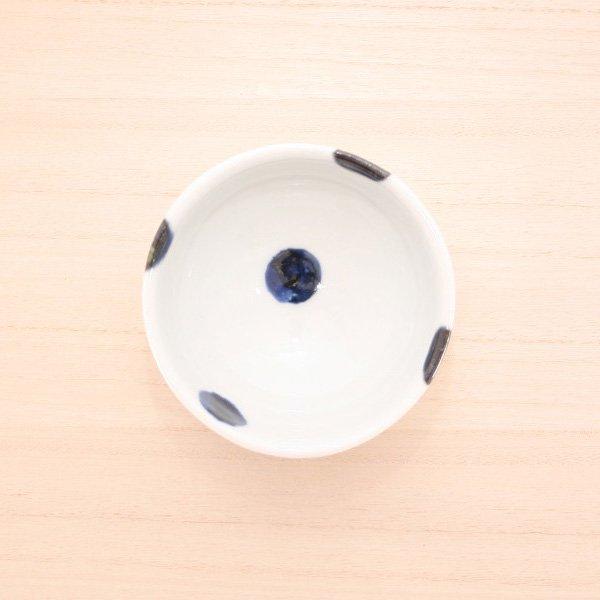 砥部焼・雲石窯 − 小鉢 太丸