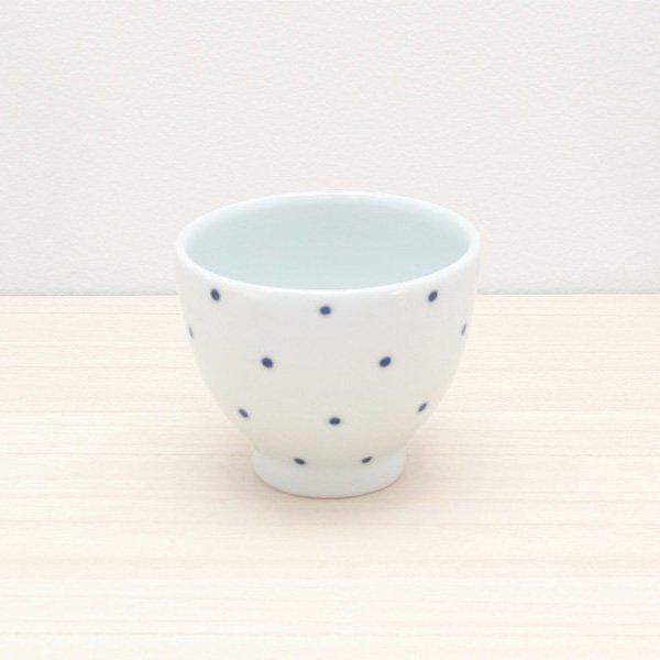 砥部焼・五松園窯 − カップ 水玉