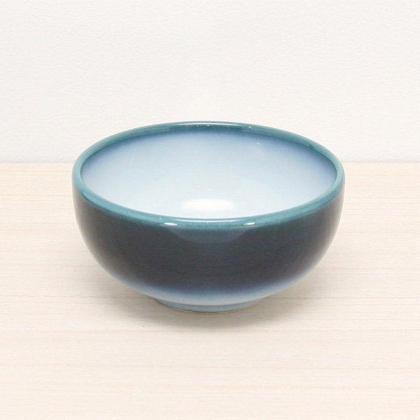砥部焼・ヨシュア工房 − 深小鉢 内白