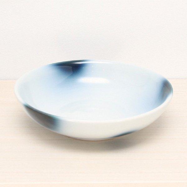 砥部焼・ヨシュア工房 − 平鉢 中 まりも