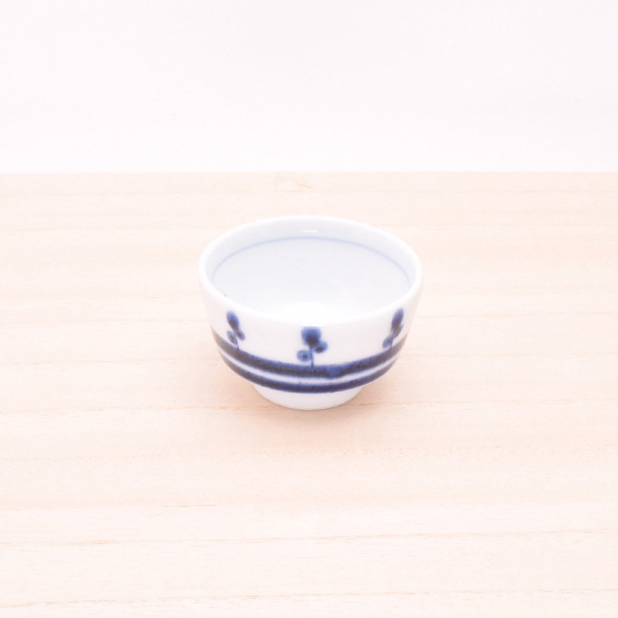 砥部焼・陶房 遊 − おちょこ キノミナノ