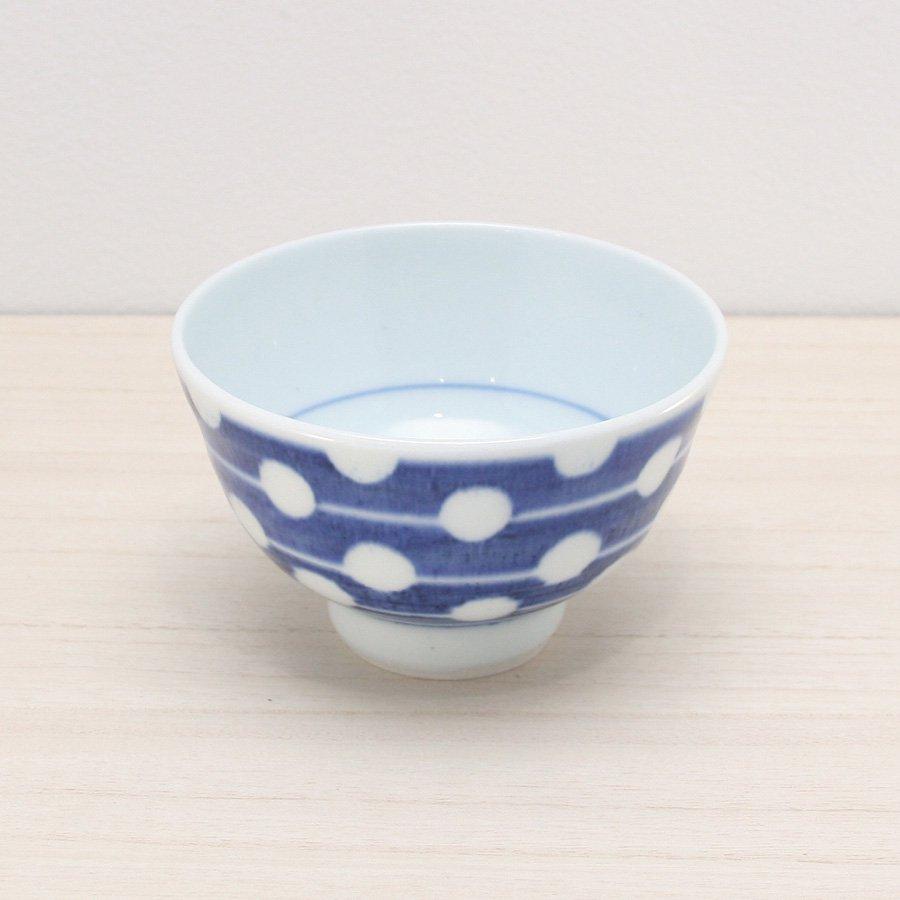 砥部焼・陶房 遊 − めし碗 M 白玉