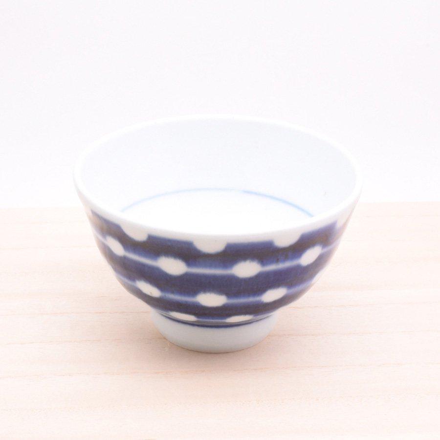 砥部焼・陶房 遊 − めし碗 L 白玉