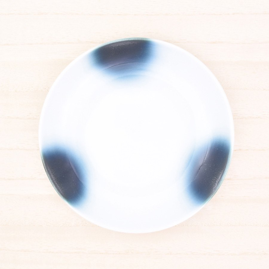砥部焼・ヨシュア工房 − 5寸皿 まりも