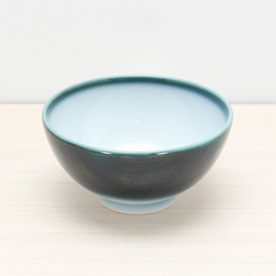 砥部焼・ヨシュア工房 − ごはん茶碗 内白(大)