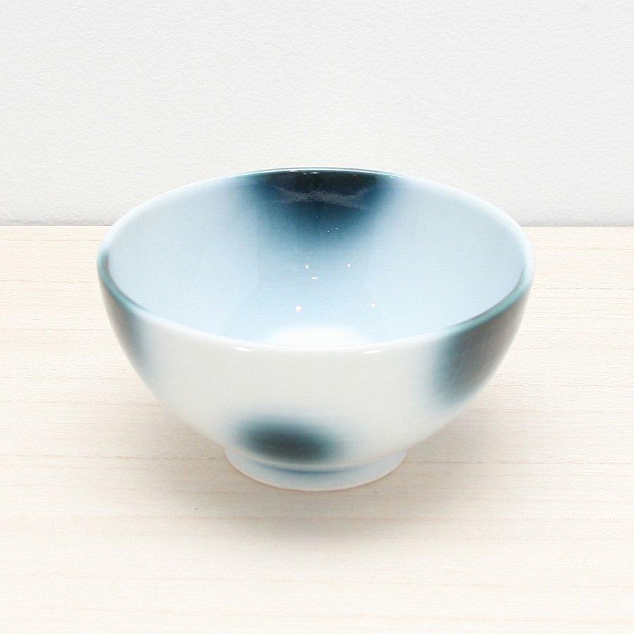 砥部焼・ヨシュア工房 − ごはん茶碗 まりも(大)