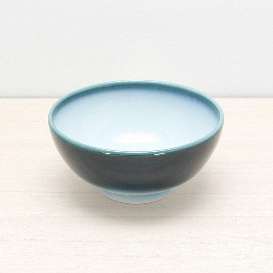 砥部焼・ヨシュア工房 − ごはん茶碗 内白(小)