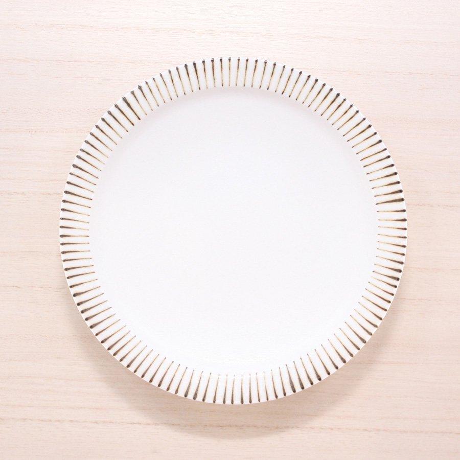 砥部焼・すこし屋 − 5.5寸皿 十草