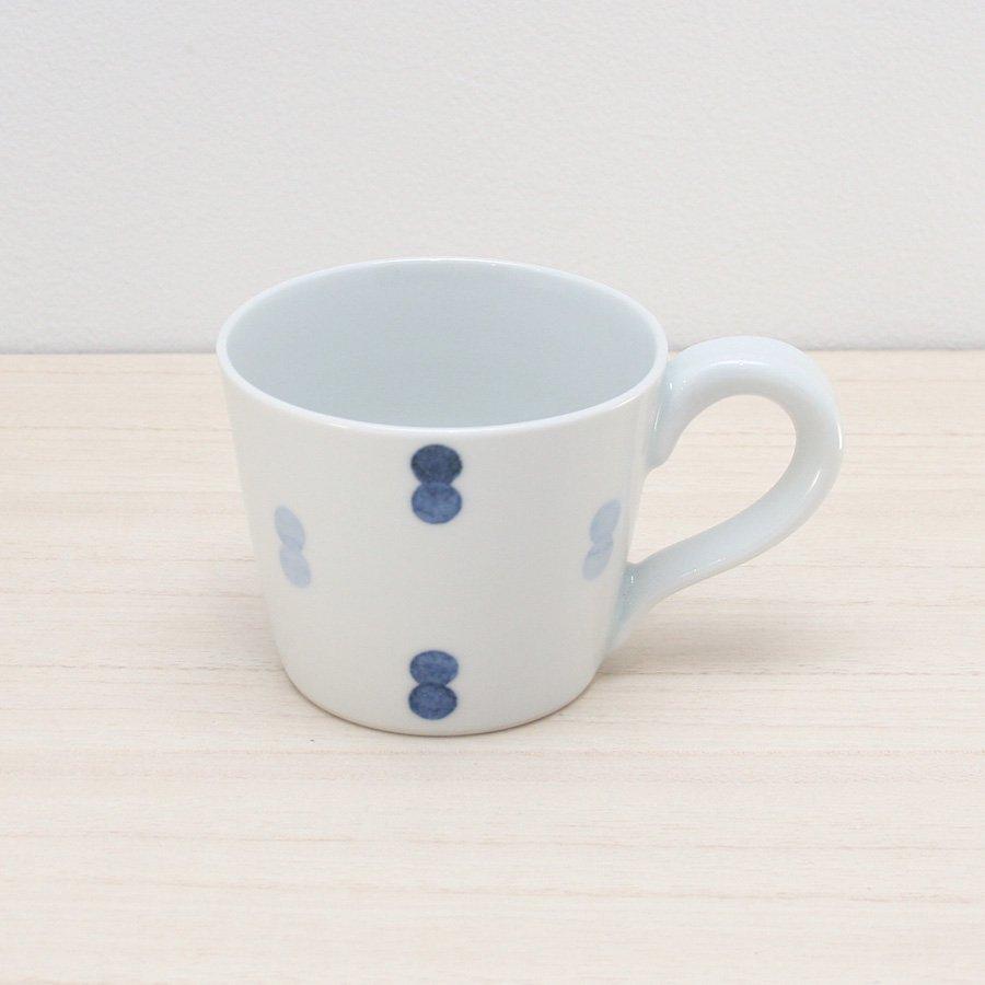 砥部焼・イロリ工房 − コーヒーカップ ニコタマ