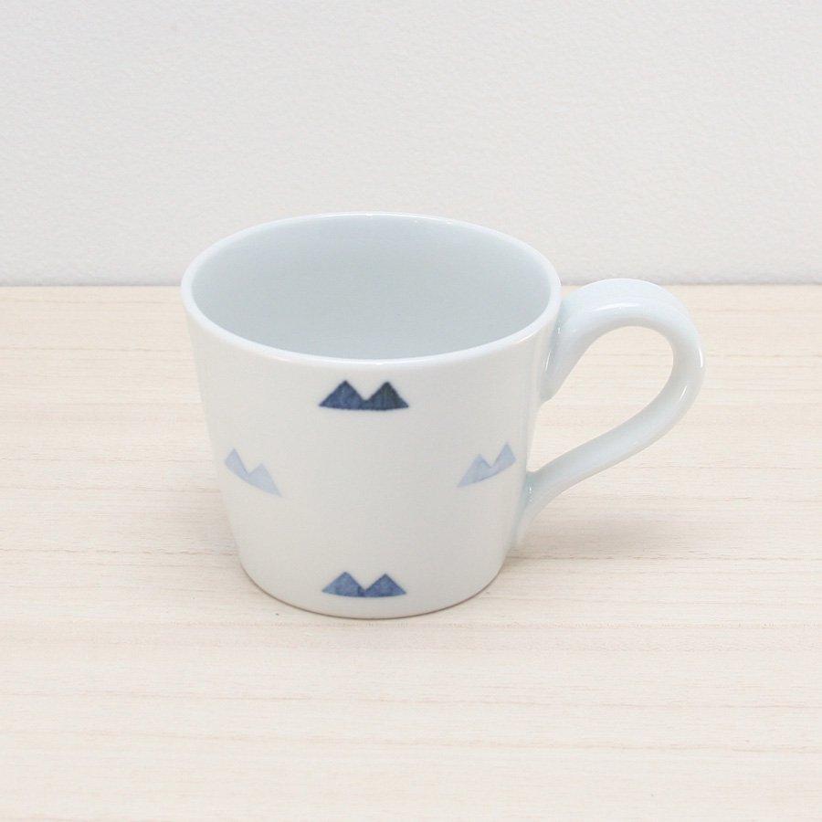 砥部焼・イロリ工房 − コーヒーカップ マウンテン