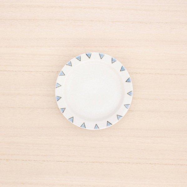 砥部焼・すこし屋 − 豆皿 三角