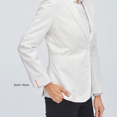 白衣・ジャケットの袖丈詰め 2cm〜6cm