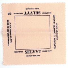 シルバー&天然石磨き布