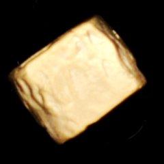 ゴールドプレイテドブラスチューブ6X8mm