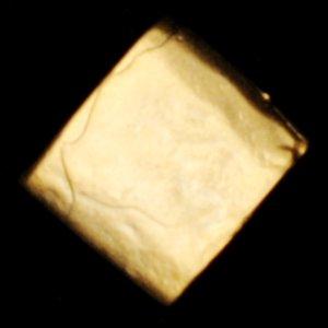 ゴールドプレイテドブラスチューブ8X9mm